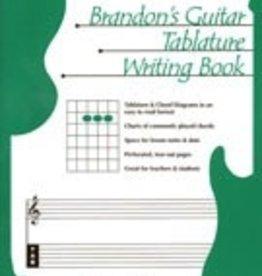Brandon's Guitar Tablature Writing Book