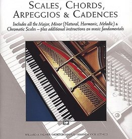 Alfred Publishing Alfred's The Complete Book of Scales, Chords, Arpeggios & Cadences