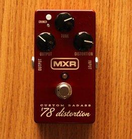 Dunlop MXR M78 Custom Badass '78 Distortion Pedal