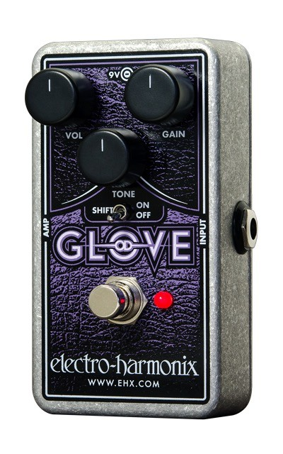 Electro Harmonix Electro Harmonix OD Glove Earthy Overdrive Effect Pedal