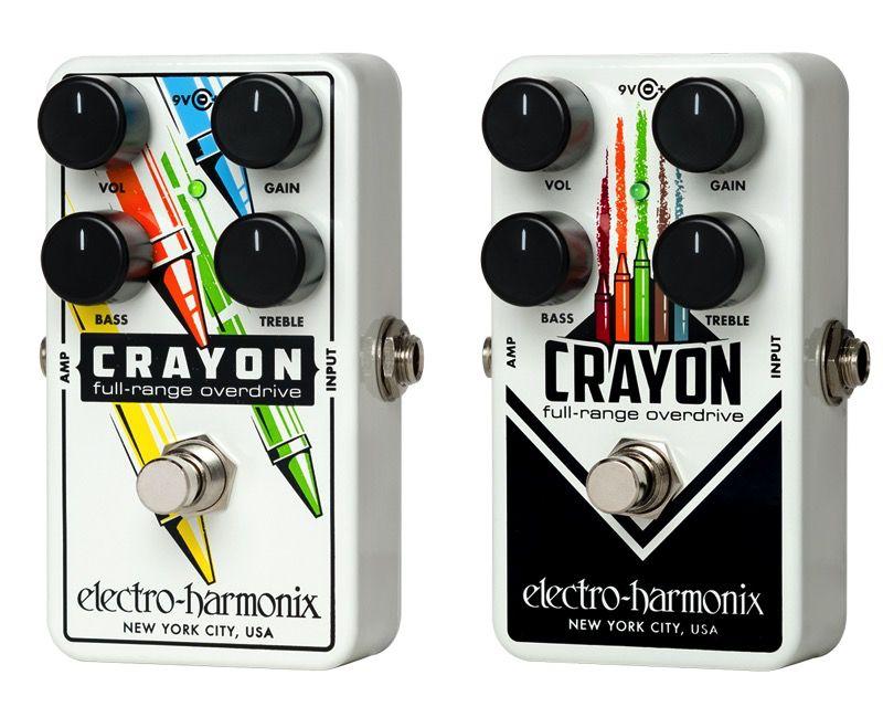 Electro Harmonix Electro Harmonix Crayon Full Range Overdrive Effect Pedal