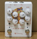 Keeley Caverns Delay/Reverb V2 - 650ms Delay with Modulation. Spring, Shimmer, and Modulated Reverb. Trails or True Bypass