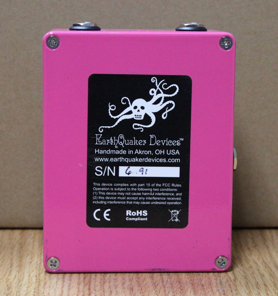 Earthquaker Rainbow Machine Pitch Shifter V2
