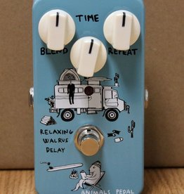Animals Pedal Relaxing Walrus Delay Pedal