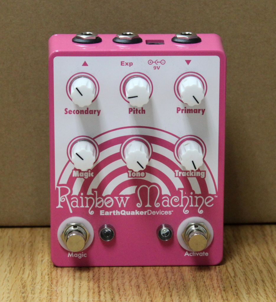 Used Earthquaker Rainbow Machine Effects Pedal