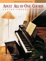 Alfred Publishing Alfred's Adult All-in-One Piano Course - Level 1