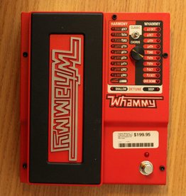 Digitech Digitech Whammy - 2 mode pitch shift effect with true-bypass and MIDI input