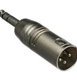 Hosa Adaptor, XLR3M to 1/4 in TRS