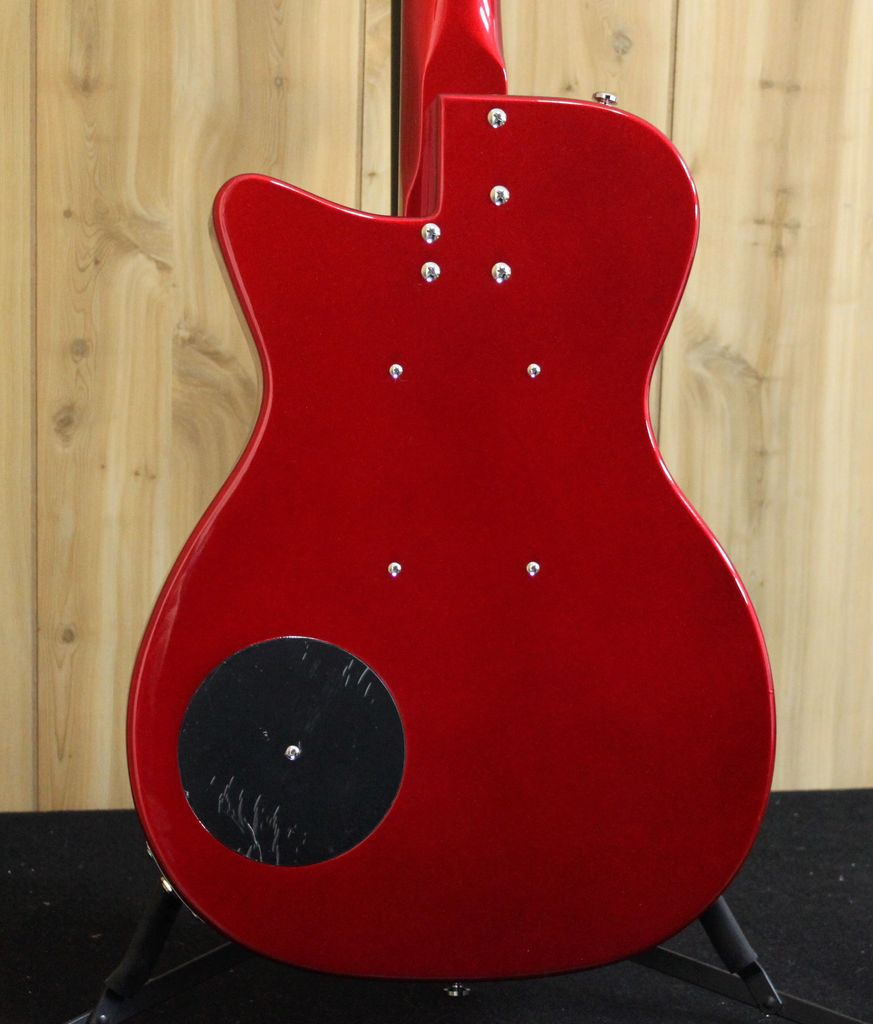 Danelectro Danelectro '56 Vintage Baritone Guitar — Red Metallic