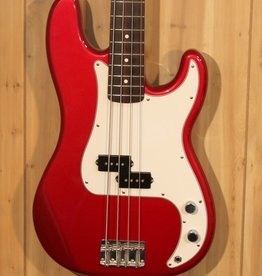 USED Used 2006 Red Fender Mexican Precision Bass