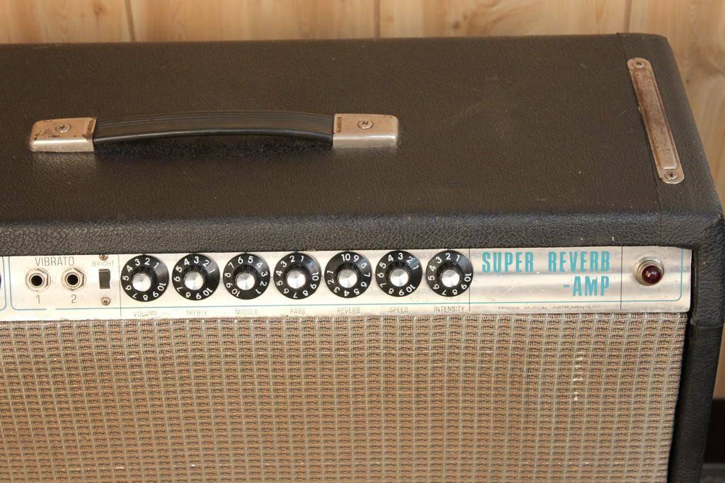 Fender Used Vintage Fender 1968 Super Reverb — New Tubes!