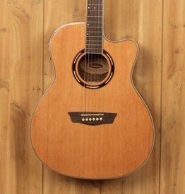 Washburn Washburn Apprentice 20/40 Grand Auditorium in Natural, Walnut Sides w/Hardshell Case