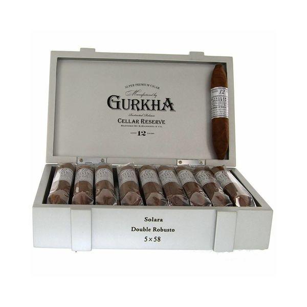 Gurkha Cigar Group, Inc Gurkha Cellar Reserve Platinum 12 Year Solara Double Robusto
