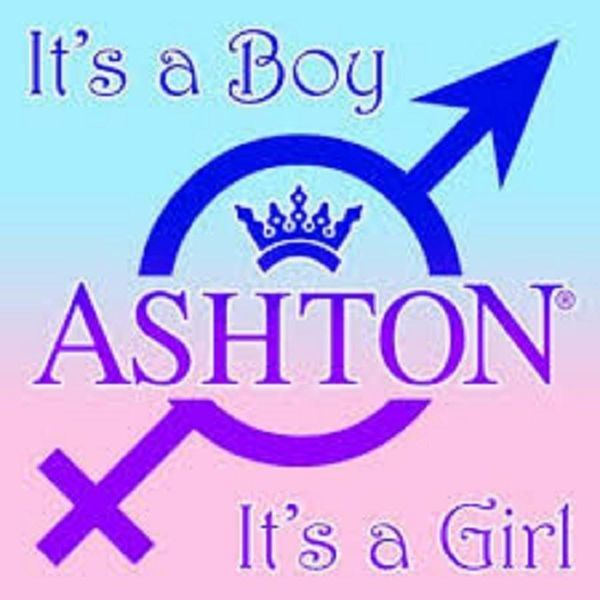 Ashton Ashton Crystal #1- It's a Boy