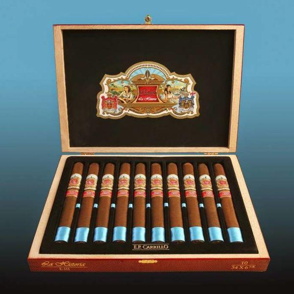 EP Carrillo E.P. Carrillo La Historia E-III Box of 10