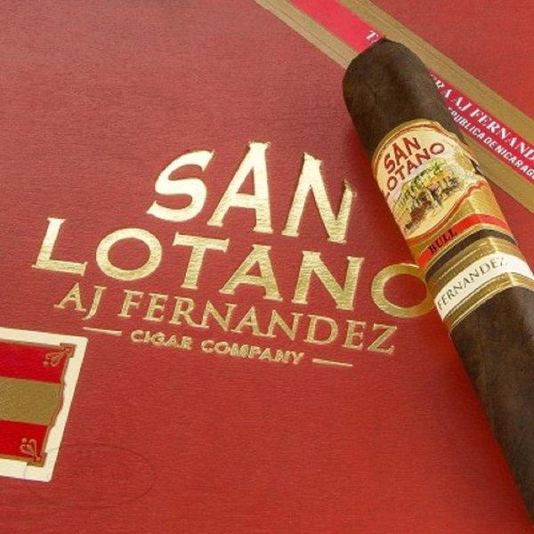 AJ Fernandez AJ Fernandez San Lotano- The Bull- Robusto