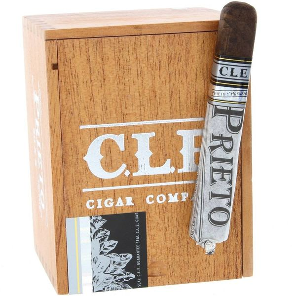 CLE Cigars CLE Prieto 5 x 50 Robusto Box of 25