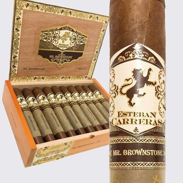 Esteban Carreras Esteban Carreras Mr. Brownstone Habano Toro Grande Box of 20