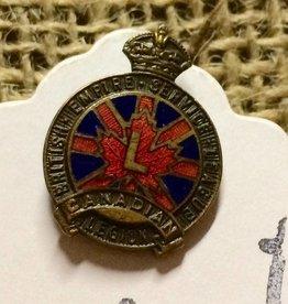 British Empire Service screw back pin