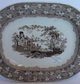 Antique serving platter
