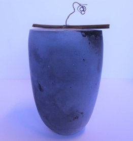 Contemporary porcelain urn