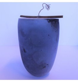 Contemporary porcelain urn