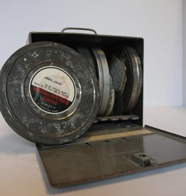 Vintage Movie Reel Cases & Box