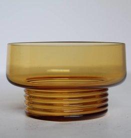Set of four glass bowls