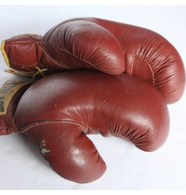 Pair of left handed boxing gloves