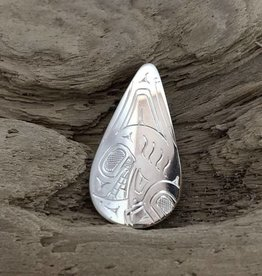 First Nations carved pendant