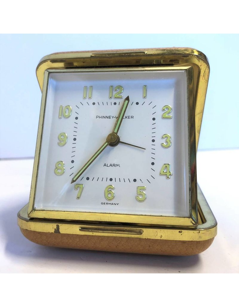 Vintage folding alarm clock from Germany - The Argosy Antiques ...
