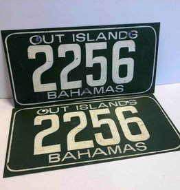Set of two Bahamas Out Islands license plates