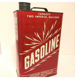 Vintage gasoline can