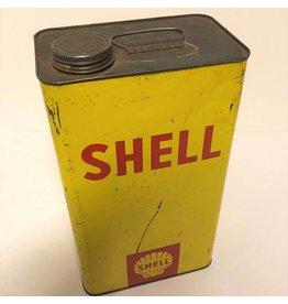 One gallon Shell gas can