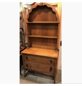 Oak barley twist cabinet