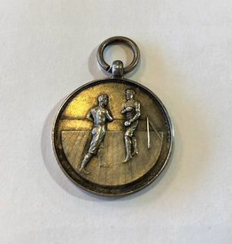 Sterling silver boxing medal from 1937