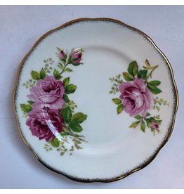 "Royal Albert ""American Beauty"" bread and butter plate"
