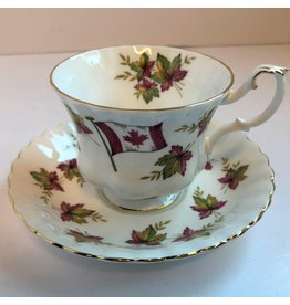 "Royal Albert ""From Sea to Sea"" cup and saucer"