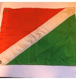 Vintage BC Packers' flag