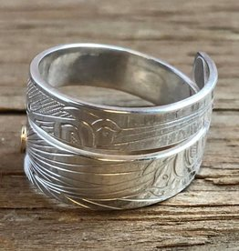 First Nations carved rings