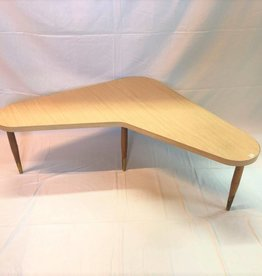 Arborite top boomerang coffee table