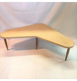 Arborite top boomerang coffee table