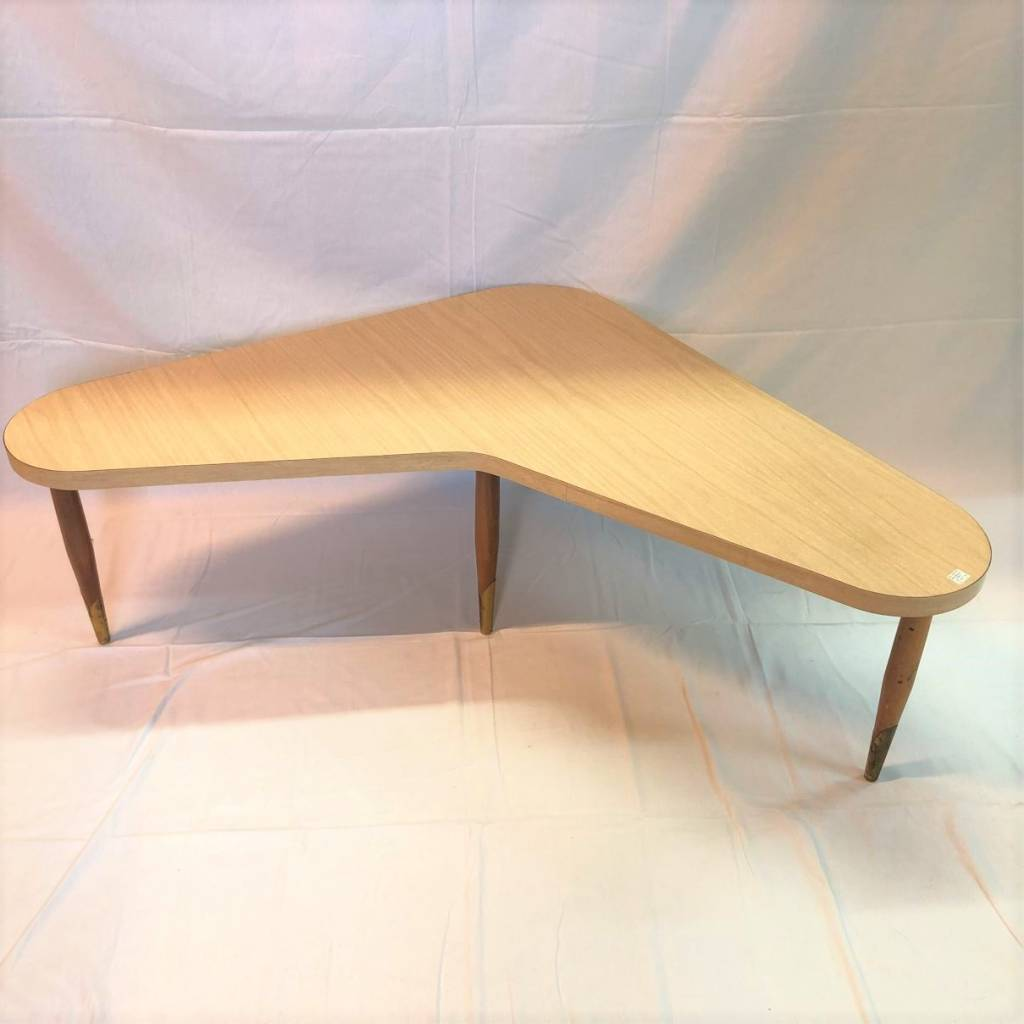 Super Funky Boomerang Shaped Coffee Table The Argosy Antiques Fine Vintage
