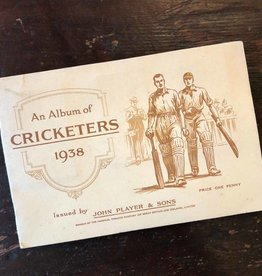 Player's Tobacco collector cards album - Cricketers