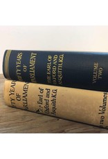 Book - Fifty Years of Parliament by Cassell, 1926, 2 volumes, hardcover