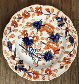 200 year old Mason's ironstone plate