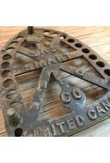 Trivet - cast iron, JAS Smart Mfg Co, sad iron