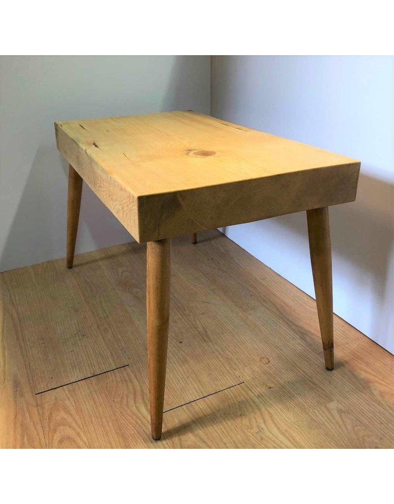 Side table - spruce slab side table or entrance bench
