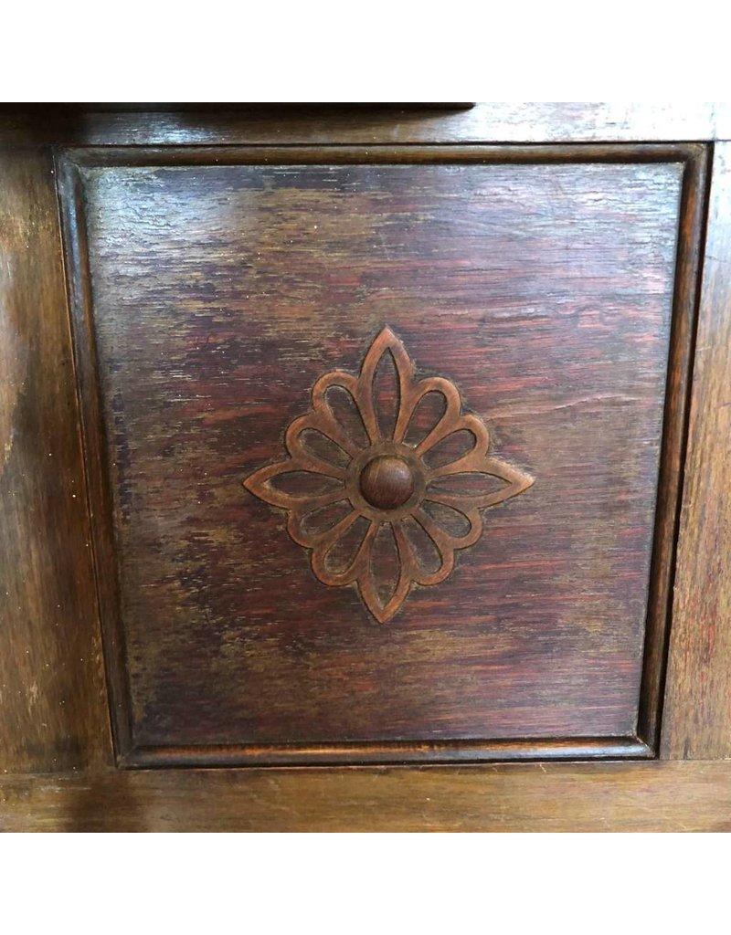 Barley twist oak sideboard