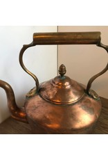 Copper kettle - William Soutter & Sons, late 19th century